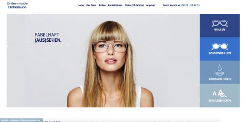 Firmenprofil von: Brillengeschäft Brillenmode Delasauce in Weilburg