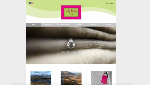 Firmenprofil von: Harris Tweed Stoffe von Inky Pinky in Lennestadt-Elspe