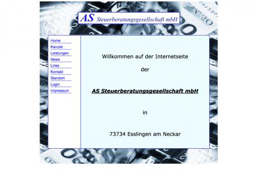 Firmenprofil von: AS Steuerberatungsgesellschaft mbH in Esslingen am Neckar