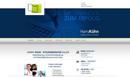Firmenprofil von: Steuererklärungen vom Profi: Steuerkanzlei Harry Kühn in Aalen