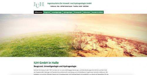 Firmenprofil von: Experte für Umweltgeologie: Ingenieurbüro für Umwelt- und Hydrogeologie GmbH in Halle/Saale