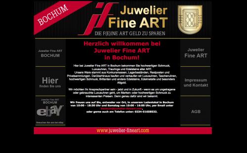 Firmenprofil von: Schmuck und Uhren von Juwelier Fine Art in Bochum