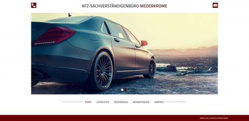 Firmenprofil von: Ihr unabhängiger Sachverständiger in Detmold: Kfz-Sachverständigenbüro Niederkrome