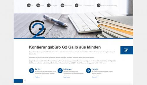 Firmenprofil von: Unternehmensberatung in Minden: Kontierungsbüro G2 Gallo