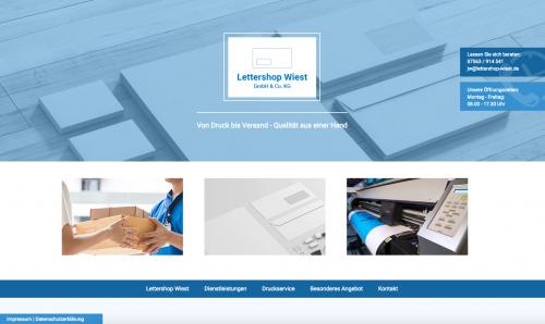 Firmenprofil von: Druck & Versand – Qualität aus einer Hand beim Lettershop Wiest