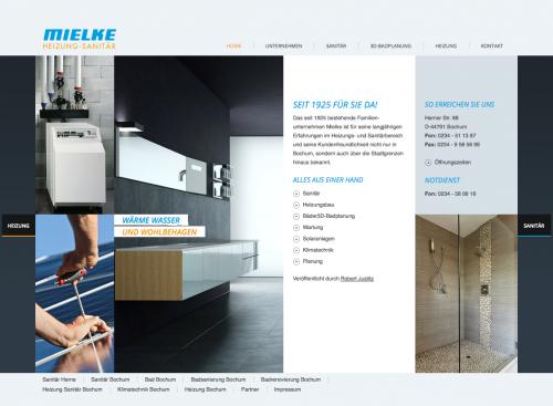 Firmenprofil von: Heizungsbau in Bochum – Mielke GmbH Heizung - Sanitär