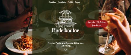 Firmenprofil von: Spezialitäten in Hamburg: Das Lüneburger Nudelkontor