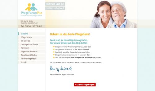 Firmenprofil von: Pflegedienst im Großraum Nürnberg: PflegePartnerPlus