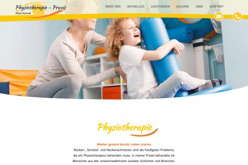 Firmenprofil von: Schmerzen lindern und Bewegungen verbessern als Physiotherapeut in Halle – Praxis Konrad