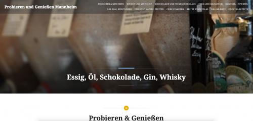 Firmenprofil von: Feinkost und Spirituosen - Probieren und Genießen in Mannheim