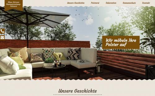 Firmenprofil von: Klaus Jörissen Raumausstatter-Polsterei in Krefeld