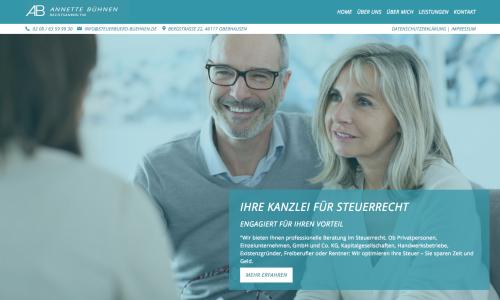 Firmenprofil von: Steuern sparen in Oberhausen: Rechtsanwältin Annette Bühnen