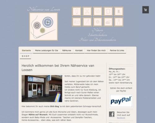 Firmenprofil von: Professionelle Polsterarbeiten in Duisburg: Nähservice van Loosen