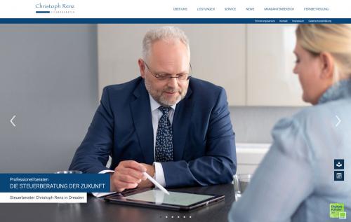 Firmenprofil von: Ihre Lohnbuchhaltung in guten Händen: Steuerberater Renz in Dresden