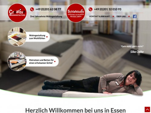 Firmenprofil von: Creative Wohngestaltung und Schlafstudio in Essen