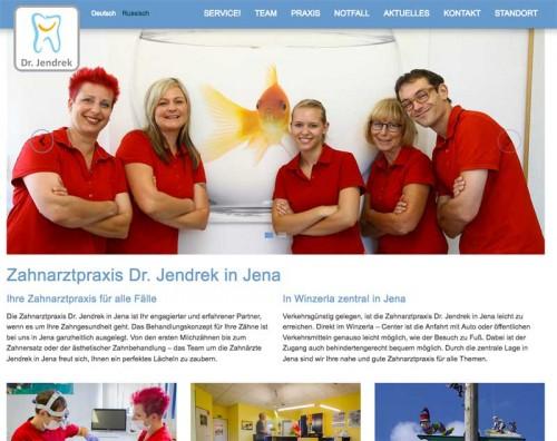 Firmenprofil von: Zahnarzt Dr. Jendrek in Jena - Die Prophylaxe ist das A und O für schöne Zähne