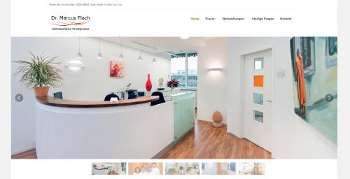 Firmenprofil von: Zahnarztpraxis Dr. Flach in Wuppertal